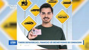 Tinerii defavorizați, finanțați să obțină permis de conducere
