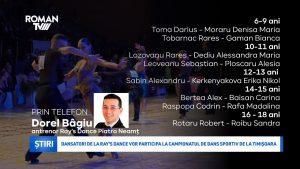 Dansatori de la Ray's Dance vor participa la Campionatul de Dans Sportiv de la Timișoara