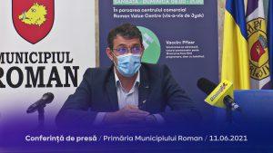 Conferință de presă – Primăria Municipiului Roman – 11.06.2021
