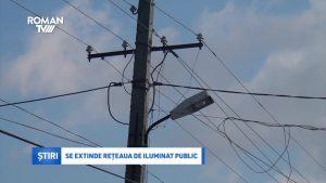 Se extinde rețeaua de iluminat public