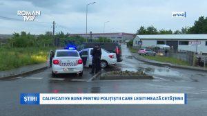 Calificative bune pentru polițiștii care legitimează cetățenii
