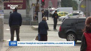 A doua tranșă de vaccin antigripal a ajuns în Neamț