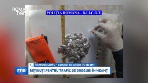 Reținuți pentru trafic de droguri, în Neamț